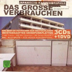 JAPANISCHE KAMPFHÖRSPIELE - DAS GROSSE VERBRAUCHEN - Coffret CD
