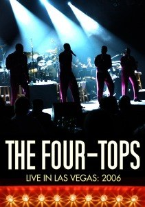 FOUR TOPS - LIVE IN LAS VEGAS 2006 - DVD