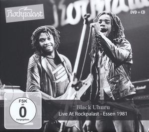 BLACK UHURU - LIVE AT ROCKPALAST - DVD + CD