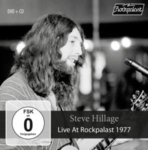 HILLAGE STEVE - LIVE AT ROCKPALAST 1977 (CD+DVD) - DVD + CD